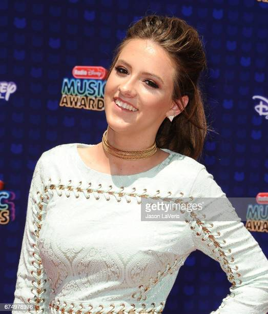 Maggie Baugh attends the 2017 Radio Disney Music Awards at Microsoft Theater on April 29 2017 in Los Angeles California