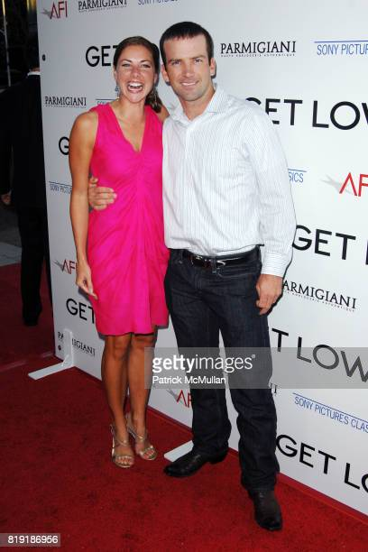 Maggie Black and Lucas Black attend Los Angeles Premiere of GET LOW at Academy of Motion Picture Arts and Sciences on July 27 2010 in Beverly Hills CA