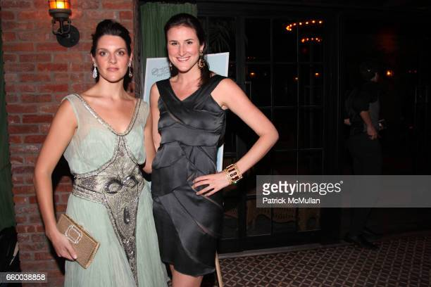 Maggie Borner and Lydia Fenet attend House of Lavande Hosts the Nest Foundation Gala at Bowery Hotel on May 1 2009 in New York City