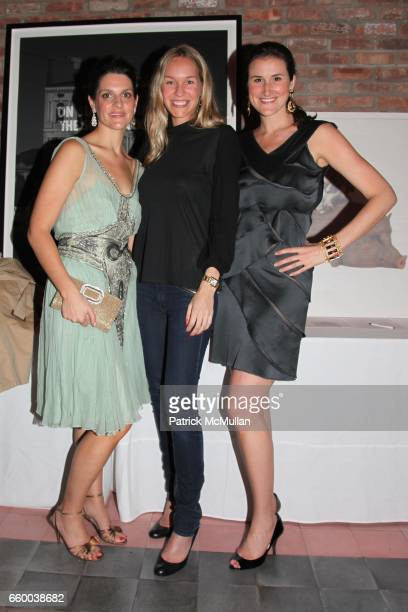 Maggie Borner Veronika Borchers and Lydia Fenet attend House of Lavande Hosts the Nest Foundation Gala at Bowery Hotel on May 1 2009 in New York City