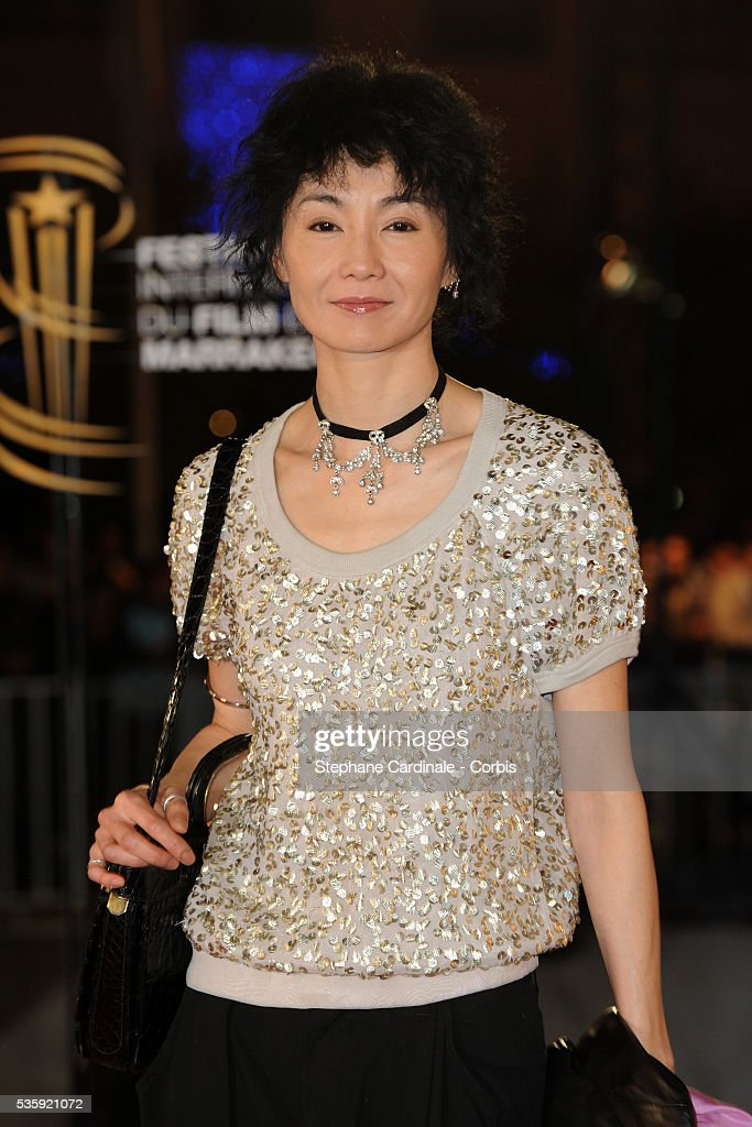 Maggie Cheung attends the Tribute to Harvey Keitel during the10th Marrakech Film Festival, in Marrakech.