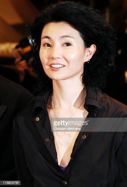 Maggie Cheung during 2004 Cannes Film Festival 'Clean' Premiere in Cannes France