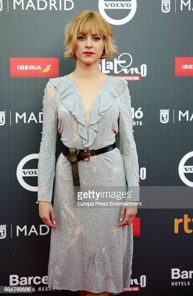 Maggie Civantos attend the 'Platino Awards 2017' presentation at the Madrid City Hall on April 4, 2017 in Madrid, Spain.