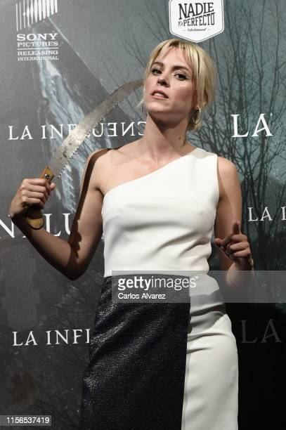 Maggie Civantos attends La Influencia photocall at Sony Pictures Headquarters on June 17 2019 in Madrid Spain