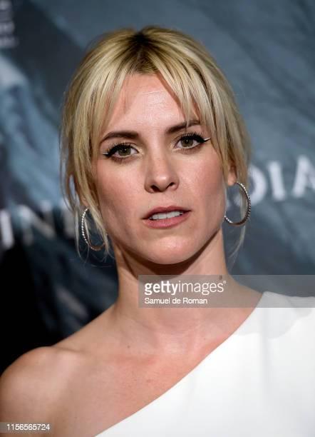 """Maggie Civantos attends """"La Influencia"""" premiere at Palacio de la Prensa on June 17, 2019 in Madrid, Spain."""