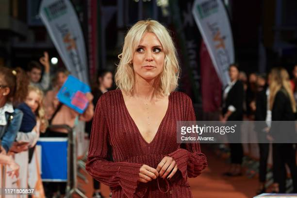 Maggie Civantos attends 'Malaka' premiere at Teatro Principal on September 02, 2019 in Vitoria-Gasteiz, Spain.
