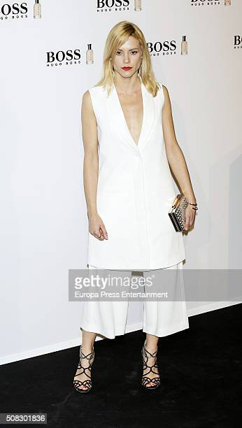 Maggie Civantos attends 'Man Of Today' campaign at Eurobuilding hotel on February 3 2016 in Madrid Spain