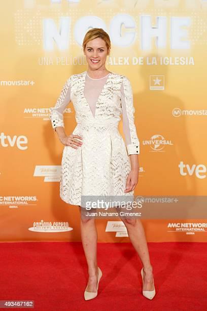 Maggie Civantos attends 'Mi Gran Noche' premiere at Kinepolis Cinema on October 20, 2015 in Madrid, Spain.