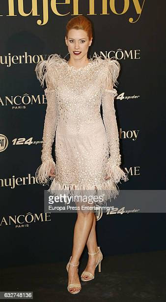 Maggie Civantos attends 'Mujer Hoy' Awards 2016 at Casino de Madrid on January 25 2017 in Madrid Spain