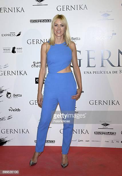Maggie Civantos attends the 'Gernika' premiere at Palafox cinema on September 5, 2016 in Madrid, Spain.