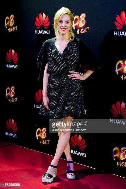 Maggie Civantos attends the Huawei P8 presentation party at Bodevil theatre on June 10 2015 in Madrid Spain