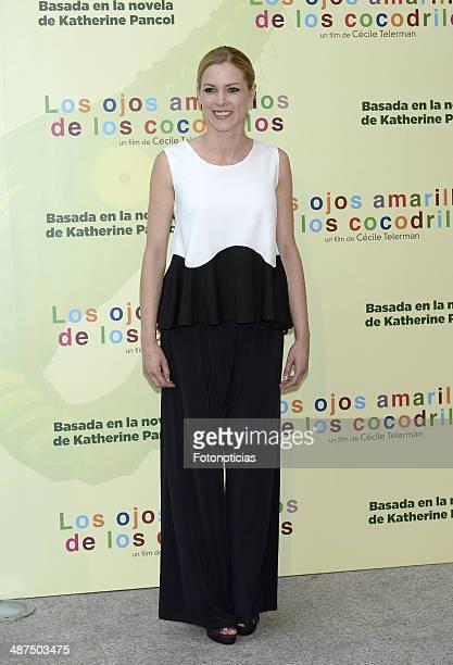 Maggie Civantos attends the 'Los Ojos Amarillos de los Cocodrilos' premiere the Academia del Cine on April 30 2014 in Madrid Spain