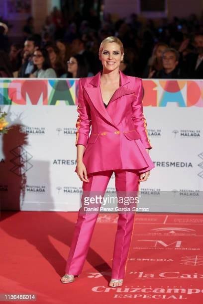 Maggie Civantos attends the 'Malaga' award 2019 during the 22th Malaga Film Festival at the Cervantes Theater on March 17 2019 in Malaga Spain