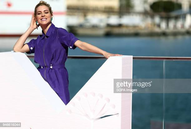 FESTIVAL MALAGA ANDALUSIA SPAIN Maggie Civantos attends the photocall of the TV serie Vis a Vis with in the 21st Malaga Film Festival in Malaga The...
