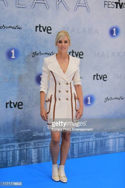Maggie Civantos attends the presentation of 'Malaka' TV Series at Festval of Vitoria 2019 on September 02 2019 in Madrid Spain