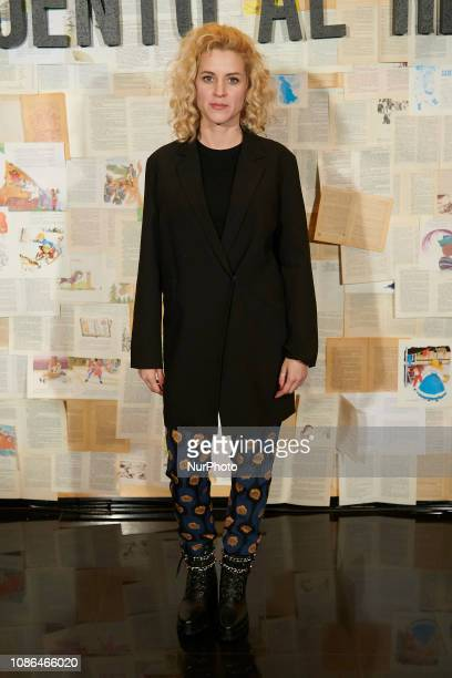 Maggie Civantos attends the 'Un cuento al reves' photocall at Spanish Cinema Academy in Madrid Spain on Jan 22 2019