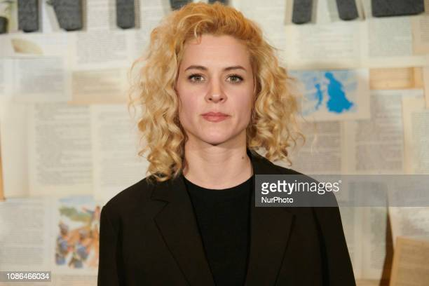 Maggie Civantos attends the 'Un cuento al reves' photocall at Spanish Cinema Academy in Madrid, Spain on Jan 22, 2019