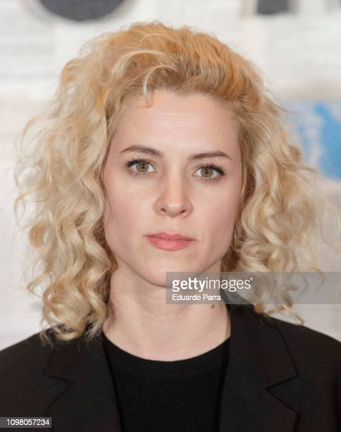 Maggie Civantos attends the 'Un cuento al reves' premiere at Academia del Cine on January 22, 2019 in Madrid, Spain.