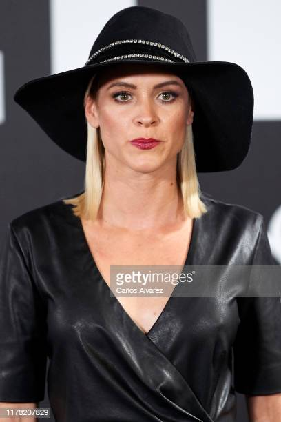 Maggie Civantos attends the Yves Saint Laurent fragrance 'Libre' presentation at Real Fabrica de Tapices on September 30, 2019 in Madrid, Spain.