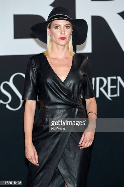 Maggie Civantos attends the Yves Saint Laurent 'Libre' fragrance presentation at Real Fabrica de Tapicez in Madrid Spain on Sep 30 2019