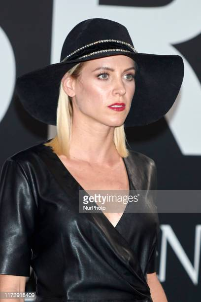 Maggie Civantos attends the Yves Saint Laurent 'Libre' fragrance presentation at Real Fabrica de Tapicez in Madrid, Spain on Sep 30, 2019