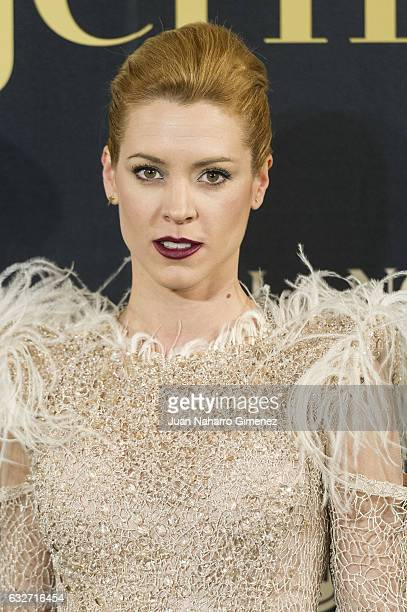 Maggie Civantos attends 'VII Premios Mujer Hoy' at Casino de Madrid on January 25 2017 in Madrid Spain