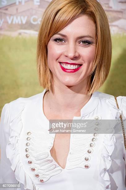 Maggie Civantos attends 'Villaviciosa De Al Lado' premiere at Capitol Cinema on December 1 2016 in Madrid Spain
