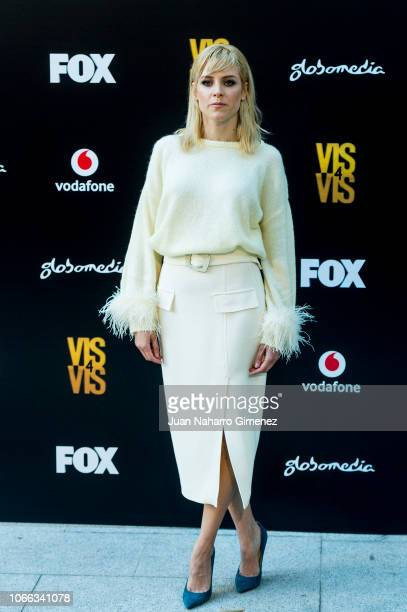 Maggie Civantos attends 'Vis A Vis' photocall at Santo Mauro Hotel on November 29 2018 in Madrid Spain