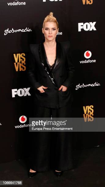 Maggie Civantos attends 'Vis A Vis' photocall at Santo Mauro Hotel on November 29, 2018 in Madrid, Spain.