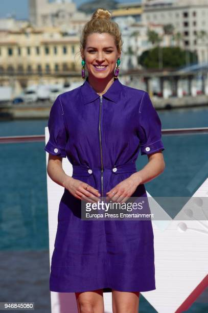 Maggie Civantos attends 'Vis a Vis' photocall during 21th Malaga Film Festiva on April 15 2018 in Malaga Spain