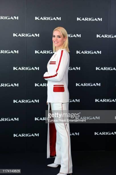 Maggie Civantos presents 'Karigam' collection at Terraza Picalagartos on September 12 2019 in Madrid Spain