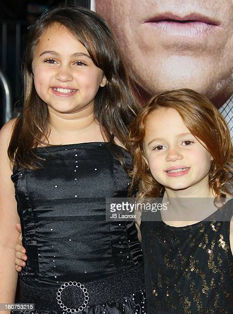 Maggie Elizabeth Jones and Mary-Charles Jones attend the 'Identity Thief' Premiere held at Mann Village Theatre on February 4, 2013 in Westwood,...