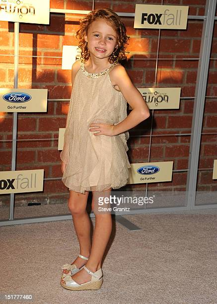 Maggie Elizabeth Jones arrives at the FOX Fall Eco-Casino Party at The Bookbindery on September 10, 2012 in Culver City, California.