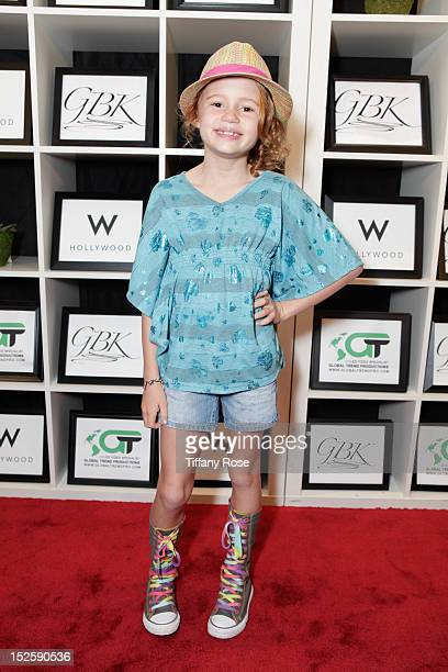 Maggie Elizabeth Jones attends the GBK Productions Luxury Lounge During Emmy's Weekend at W Hollywood on September 22 2012 in Hollywood California