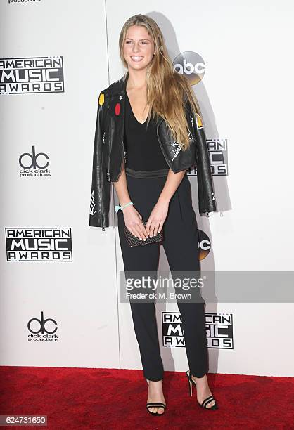 Maggie Elizabeth McGraw attends the 2016 American Music Awards at Microsoft Theater on November 20 2016 in Los Angeles California