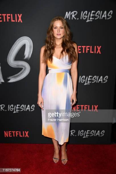 Maggie Geha attends Season 1 Premiere Of Netflix's Mr Iglesias at Regal Cinemas LA Live on June 20 2019 in Los Angeles California