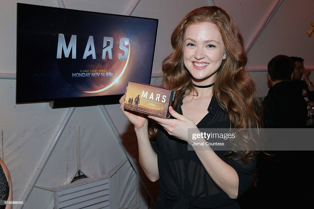 """National Geographic Channel """"MARS"""" Premiere NYC - After Party : News Photo"""