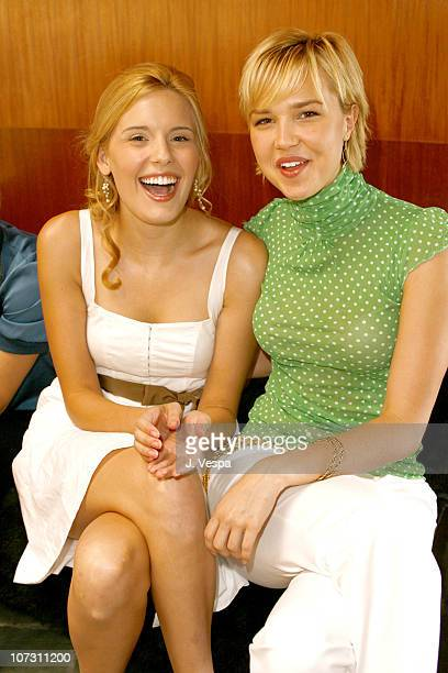 Maggie Grace and Arielle Kebbel during Kelly Lynch and Lisa Love Host a Lunch in Honor of James Ferragamo at Private Home in Los Angeles California...