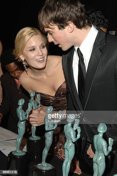 Maggie Grace and Ian Somerhalder of 'Lost' winner of Outstanding Performance by an Ensemble in a Drama Series 10612_lc0120jpg