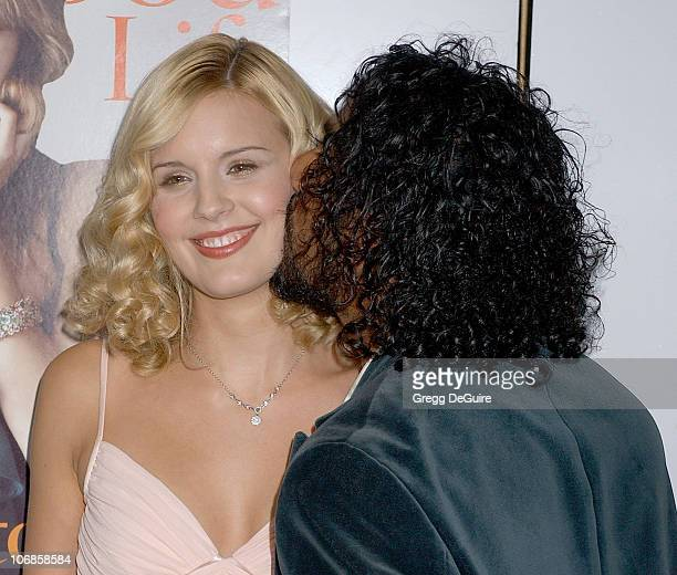 Maggie Grace and Naveen Andrews during Hollywood Life Magazine's 5th Annual Breakthrough of the Year Awards Inside Arrivals at Music Box at The Fonda...
