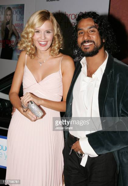 Maggie Grace and Naveen Andrews during Hollywood Life Magazine's 5th Annual Breakthrough of the Year Awards Arrivals at Henry Fonda Theatre in...