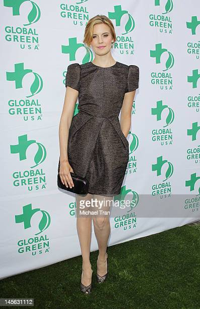 Maggie Grace arrives at Global Green USA 16th Annual Millennium Awards held at Fairmont Miramar Hotel on June 2 2012 in Santa Monica California