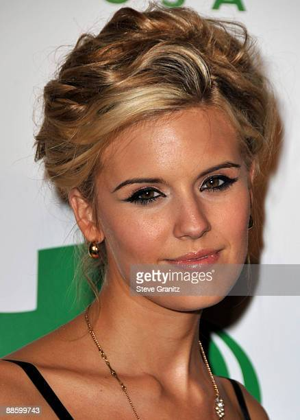Maggie Grace arrives at Global Green USA's 6th Annual PreOscar Party at Avalon Hollywood on February 19 2009 in Hollywood California