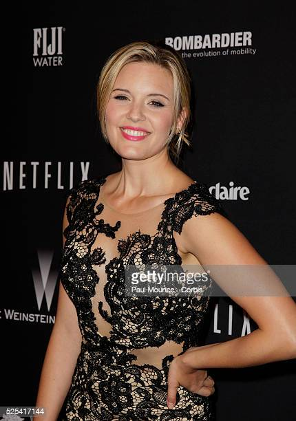 Maggie Grace arrives at the Weinstein Company Golden Globes AfterParty