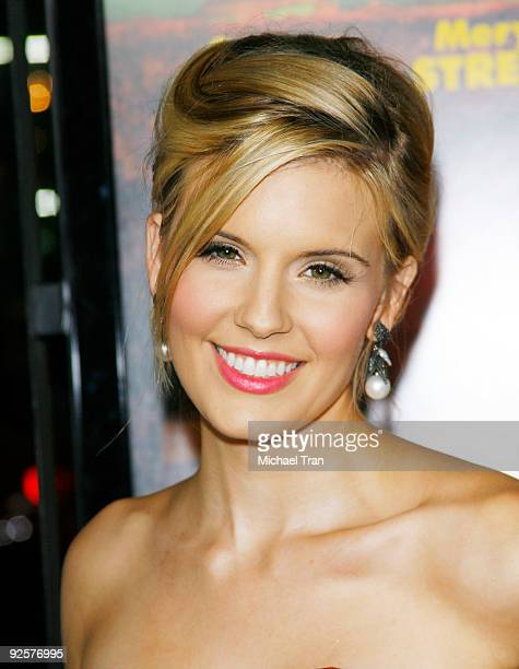 Maggie Grace arrives to the 2009 AFI Festival opening night featuring 'Fantastic Mr Fox' held at Grauman's Chinese Theatre on October 30 2009 in...