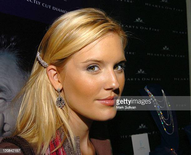 Maggie Grace at Hearts on Fire at HBO Luxury Lounge