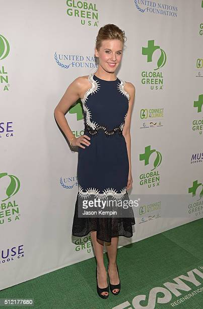 Maggie Grace attends Global Green USA's 13th Annual PreOscar Party at Mr C Beverly Hills on February 24 2016 in Beverly Hills California