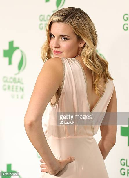 Maggie Grace attends the Global Green USA's 11th Annual PreOscar Party held at Avalon on February 26 2014 in Hollywood California