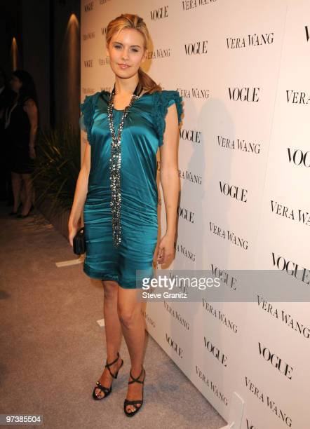 Maggie Grace attends the Vera Wang Store Launch at Vera Wang Store on March 2, 2010 in Los Angeles, California.