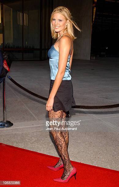 Maggie Grace during 2004 ABC All Star Summer Party at C2 Cafe in Century City California United States